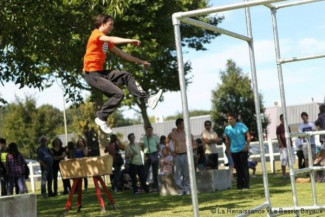 Structure pour une association de parkour