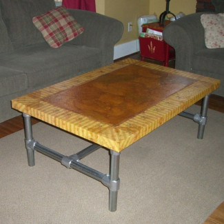 Projets assemblage direct for Customiser une table basse