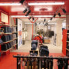 Agencement de magasin de style industriel chic