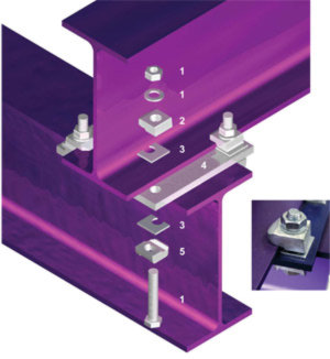 Beam Clamp fixation de charpente