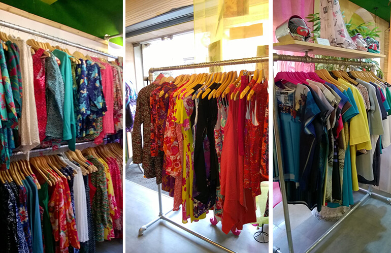 Agencement boutique Blue Lemon