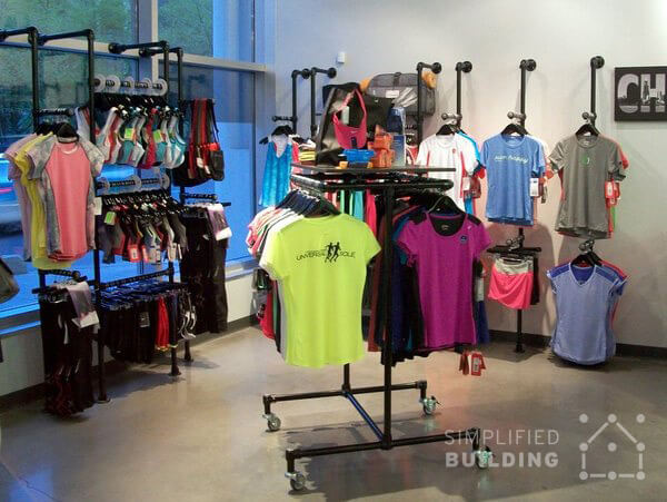 Agencement de magasin de fitness